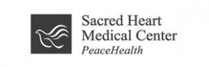 Sacred heart bw