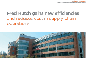 FredHutch gains new efficiencies with VueturaTrac tracking software Whitepaper