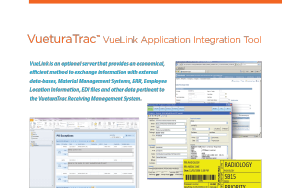 VueturaTrac VueLink Application Integration Tool