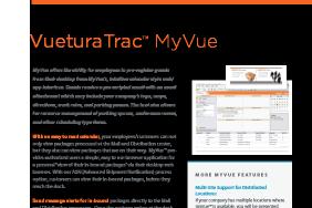 VueturaTrac™ MyVue
