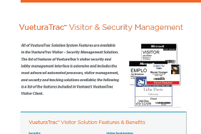 VueturaTrac™ Visitor & Security Management-1