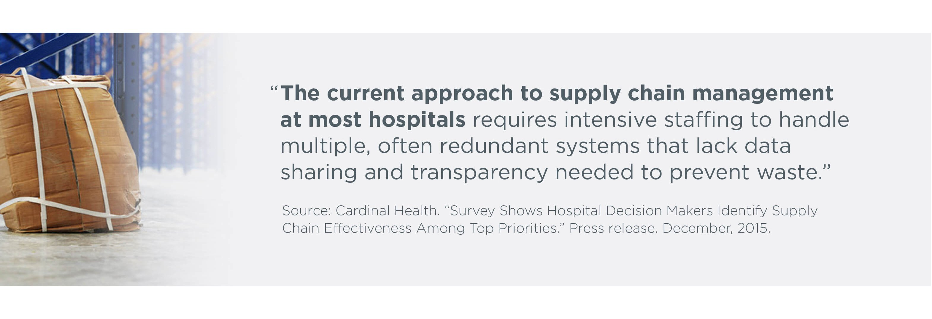 Cardinal Health Supply Chain quote 2